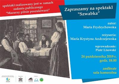 """Spektakl """"Szwabka"""""""