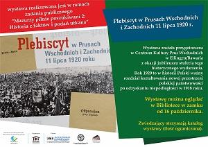 Plebiscyt w Prusach Wschodnich i Zachodnich